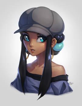 Nessa with Hat