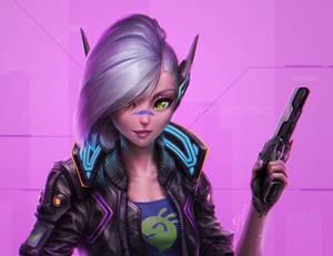 Cyberpunk Elf