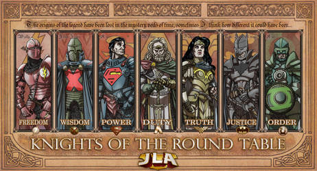 JLA:knights of the Round table
