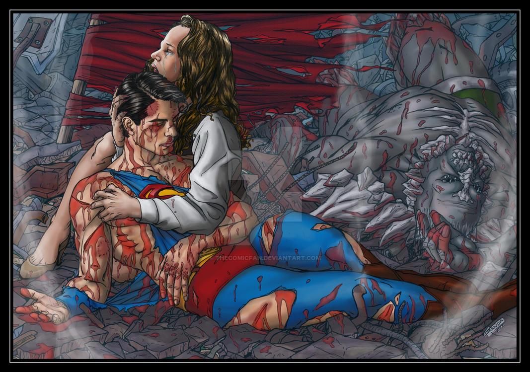 Death of Superman by TheComicFan