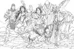 JLA SWORD AND SORCERY