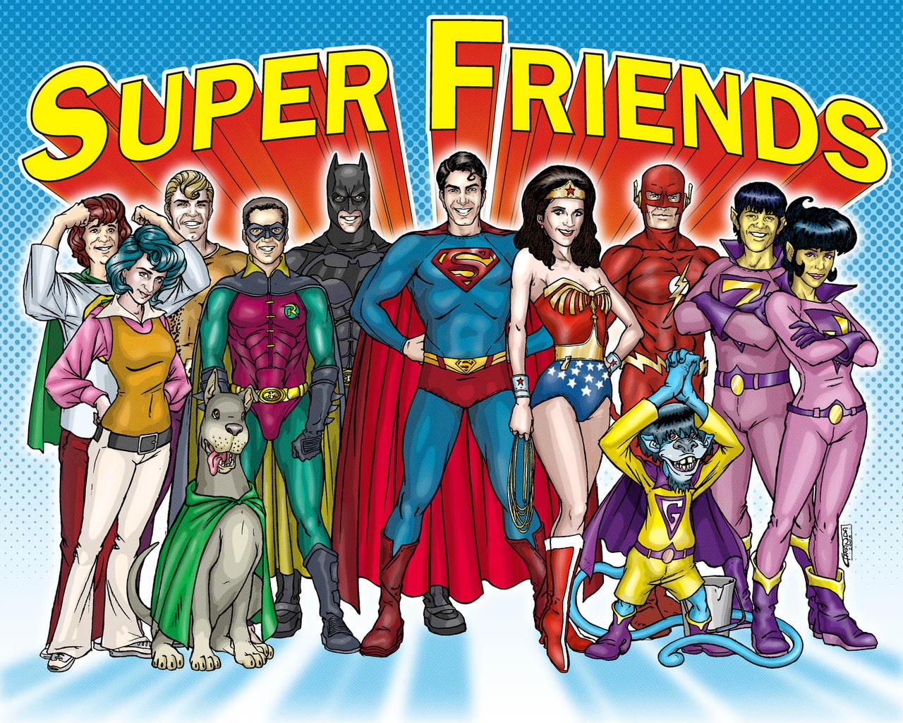 Cartoon sex super friends