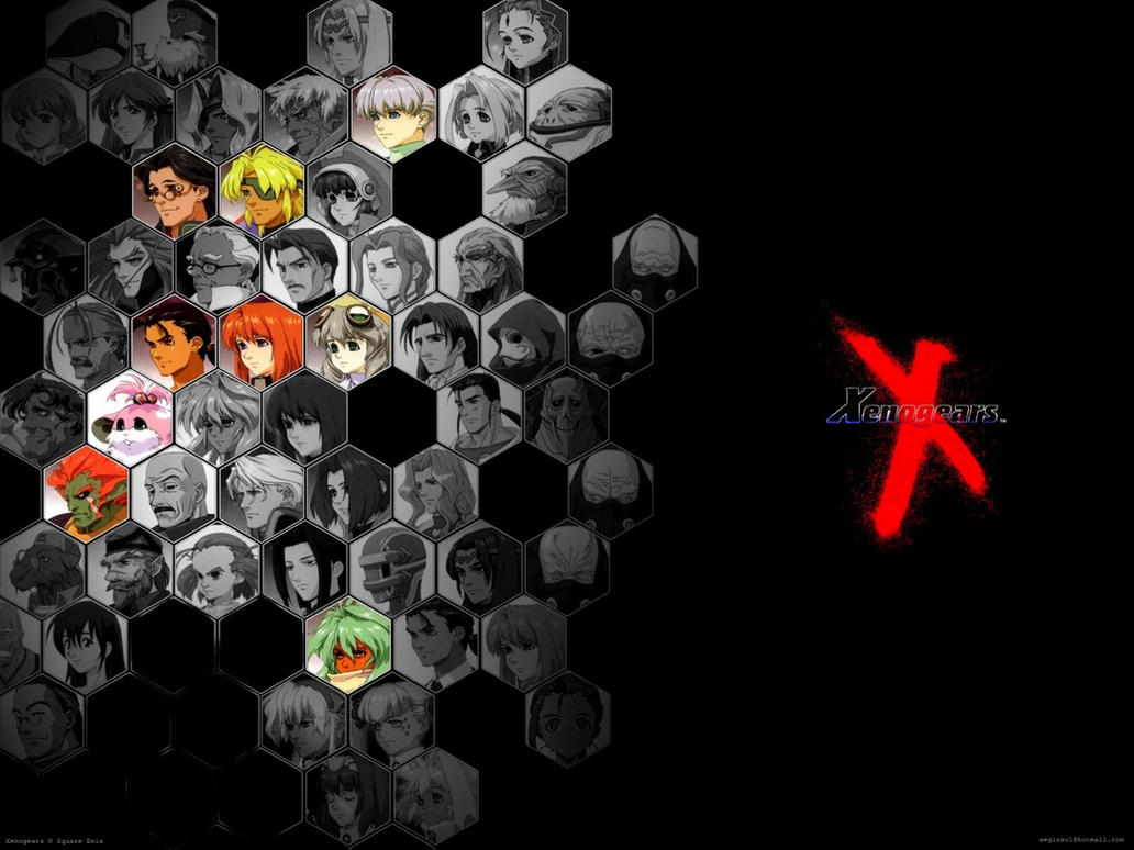 xenogears by kurosujun fan art wallpaper games 2010 2015 kurosujunXenogears Wallpaper