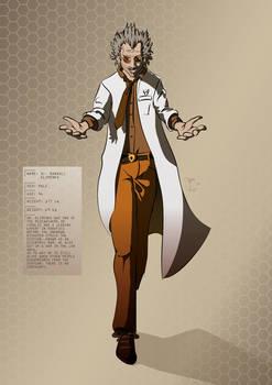 Tesla Strider Character Design: Dr. R. Klimenko