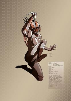 Tesla Strider Character Design: Strings