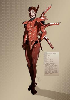 Tesla Strider Character Design: Victor Declan