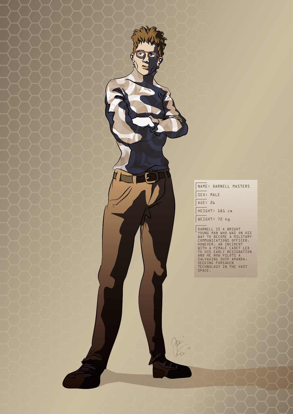 Character Design Masters : Tesla strider character design darnell masters by