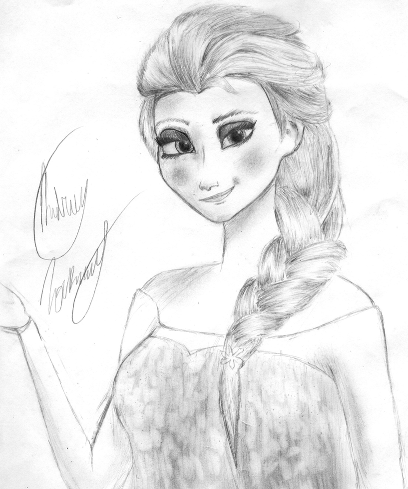 Frozen Elsa by sonicfan511