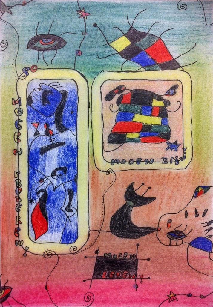 Petrus en Paulus - Joan Miro by muzeonline
