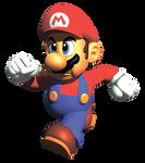 N64 Era Mario Promo Render REMAKE by xokissland
