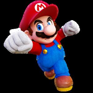 Mario Punch Render