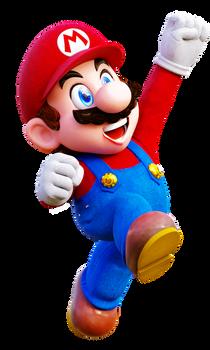 Mario Jump Render 1