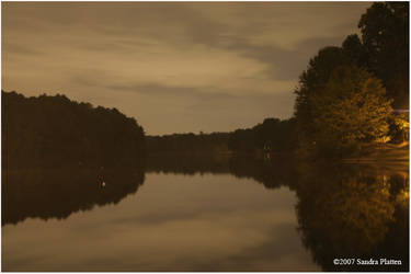 Chattahoochee at night by invisikitty