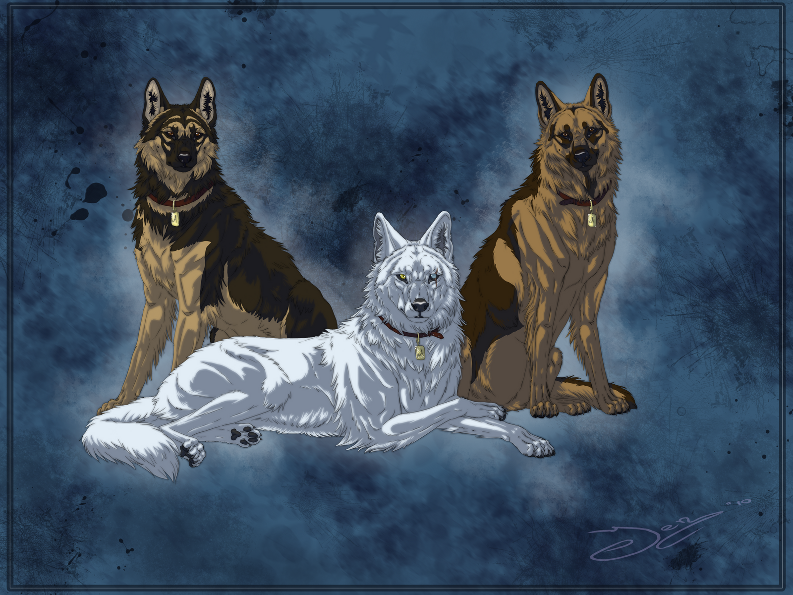 the 3 guardians by mangakasan