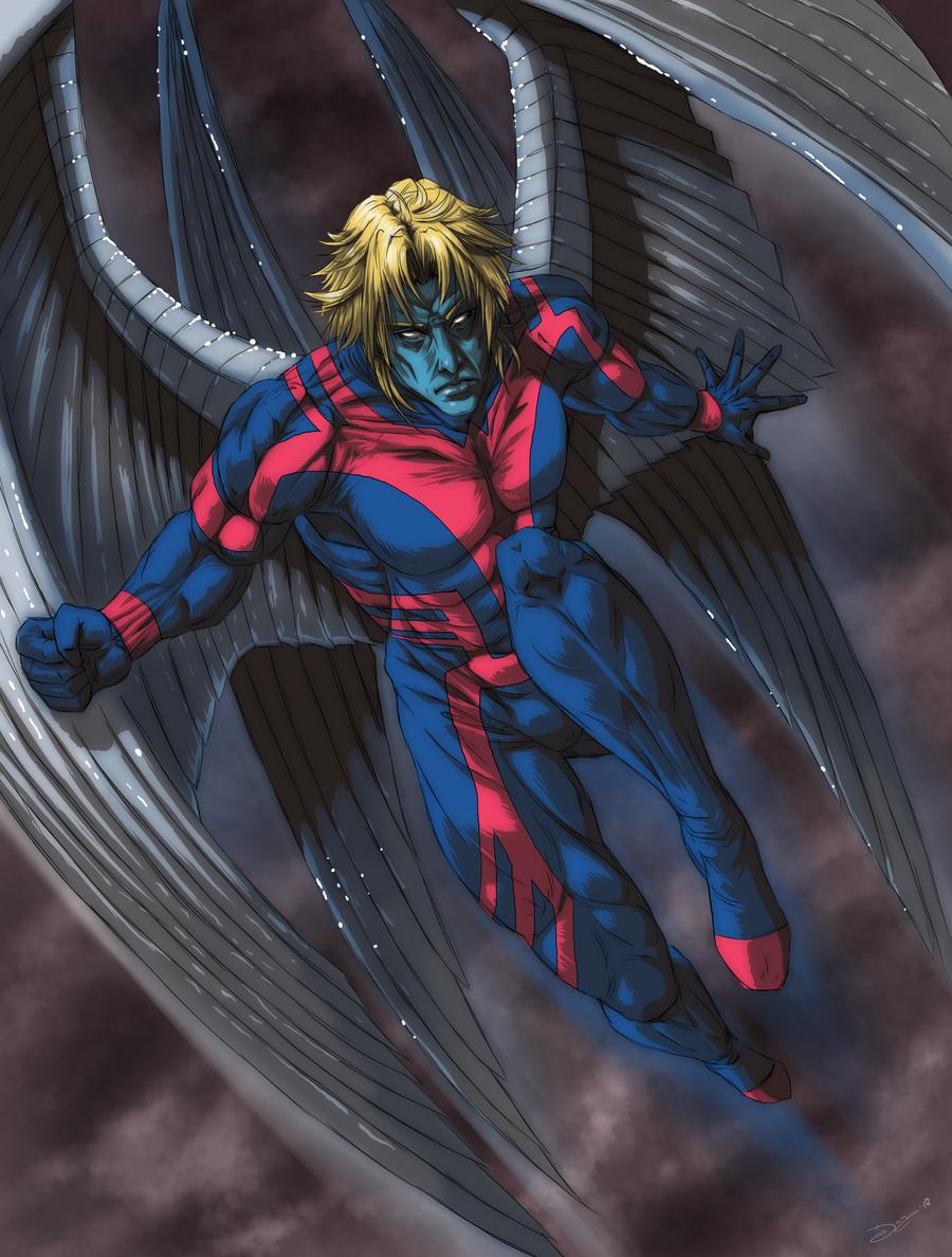 Beautiful Wallpaper Marvel Archangel - a__4_archangel_by_mangakasan-d4s452a  Snapshot_303771.png