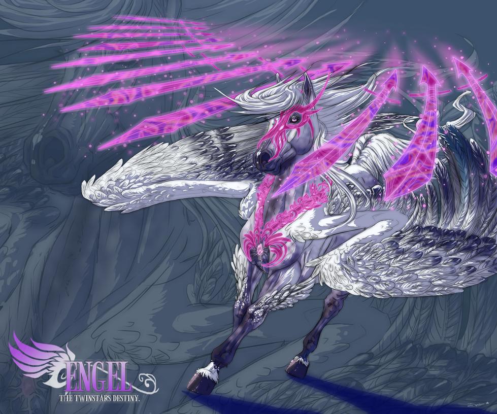 Gabriel character concept by mangakasan