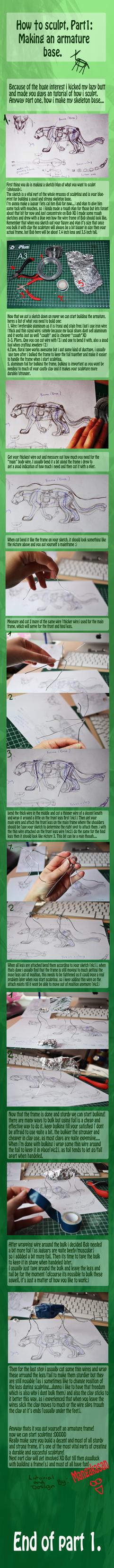 sculpting tut part1: armature base by mangakasan