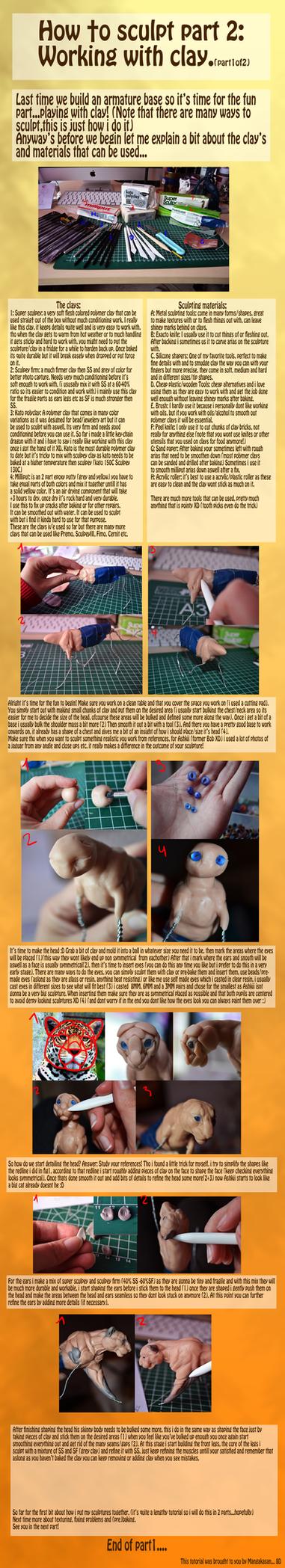 Sculpting tut part 2 1 of 2. reupload by mangakasan