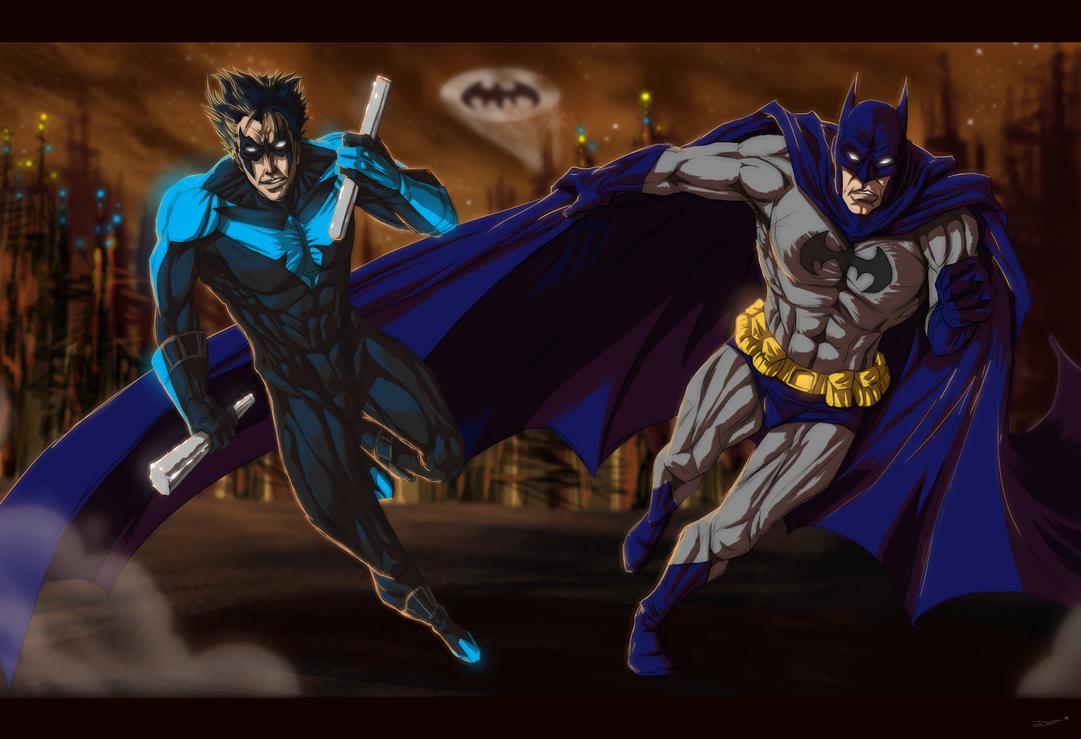 Gotham's Knight's by mangakasan