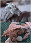 sculpts in progress