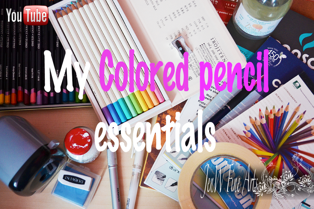 My colored pencil essentials by mangakasan