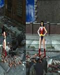 Wonder Girl vs. Silver Golitah Part 9 Victory?