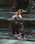 Wonder Girl vs. Silver Golitah Part 13