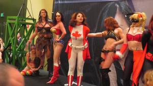 Fetish Con 2014: Superheroine Showdown Part 18