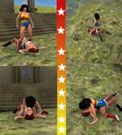 Wonder Women Vs. Dark Wonder Woman Part 9