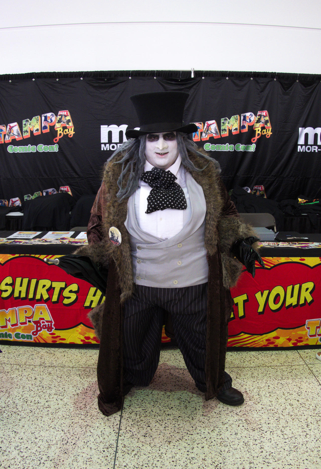 Tampa Bay Comic Con 2019: The Penguin by CarlShepard on