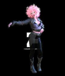 Mina Ashido as Space Heroine 2021 preview