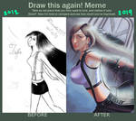 Meme  Before And After: Tifa