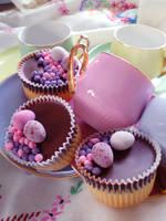 Teatime cupcakes 3 by vandalised