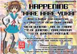 Happening Hare Hare Yukai BCN