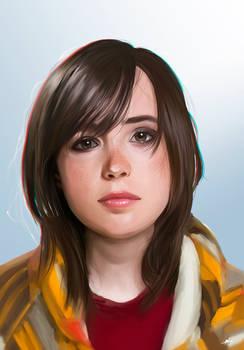 Ellen Page (Jodie Holmes) Portrait