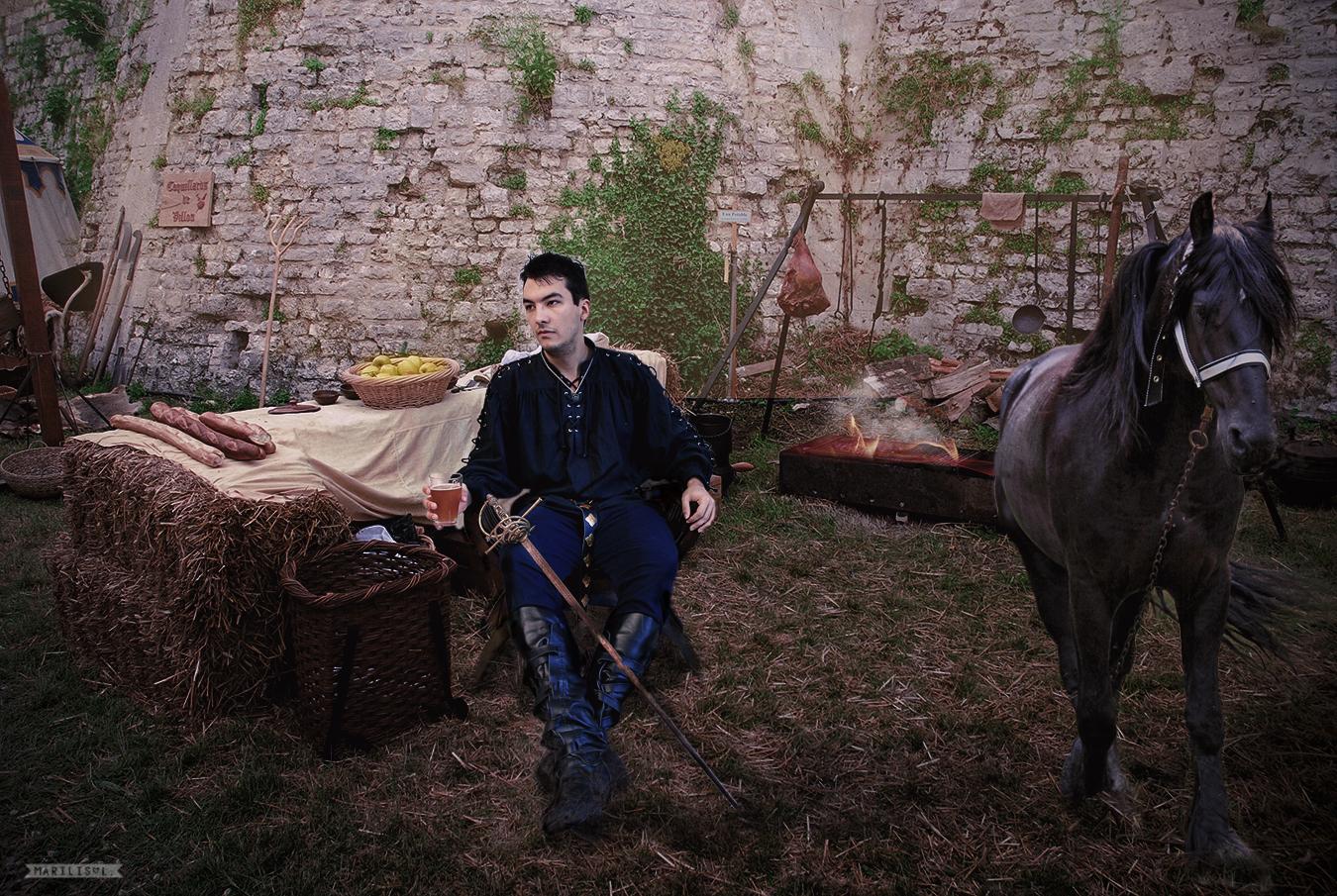 Medieval Camp by Marilis5604