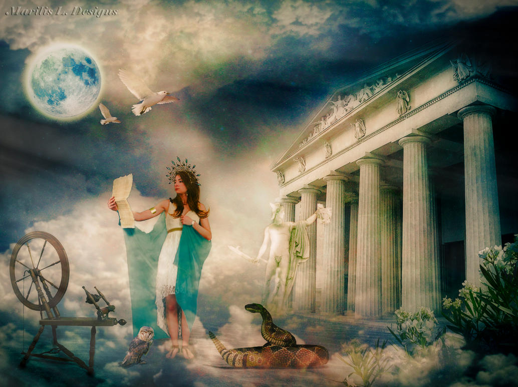 Diosa Athenea by Marilis5604