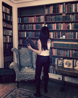 The librarian by Marilis5604