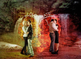 Love and Hate by Marilis5604