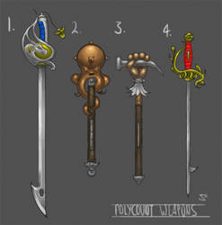 More Weapons