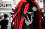 Cybergoth Cosplay (JapanTours 2016) #2 by Laxianne