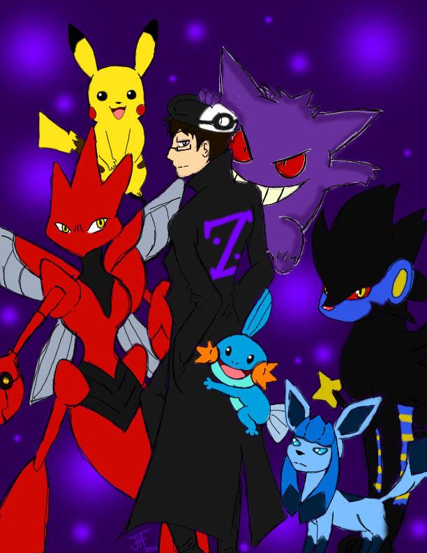 Pokemon Trainer Z by GoodDokCosplay