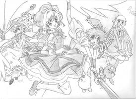 Clamp in the Wonderland