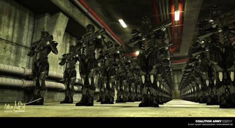 Coalition Army by nenART