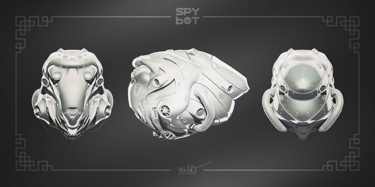 SpyBot _SB.2 .01 (WIP) by nenART