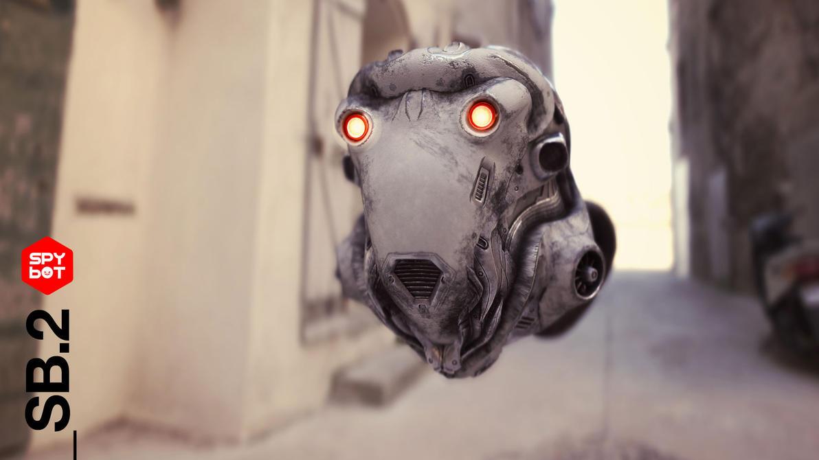 SpyBot _SB.2 - Environment-Render 01 by nenART