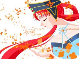 Princess Kakyuu by WindSeaBlood