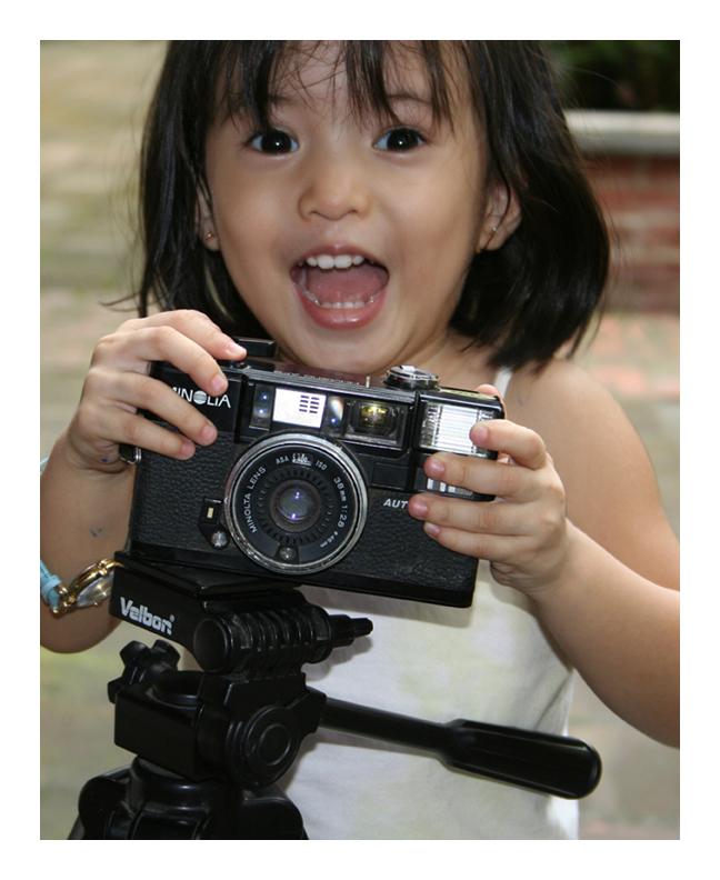 old camera... by escrimador