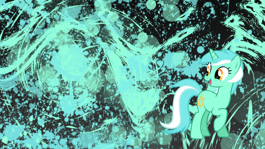 MLP:FiM Lyra wallpaper by Apoljak
