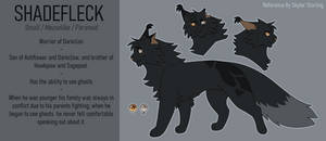 Shadefleck Reference [Commission]